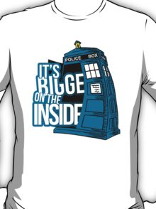 Its Bigger On The Inside T-Shirt