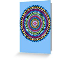 Geometric Mandala Greeting Card