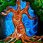 Swirly Tree by Nicoletta37