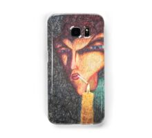 Smoker and candle Samsung Galaxy Case/Skin