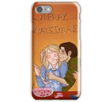 Yumikuri's Christmas Punch iPhone Case/Skin