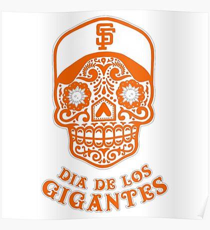 Dia De Los Gigantes San Francisco Giants Poster