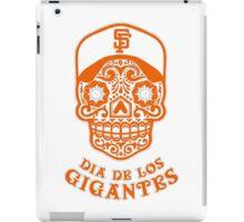 Dia De Los Gigantes San Francisco Giants iPad Case/Skin