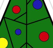 A Geometric Christmas- The Tree Sticker