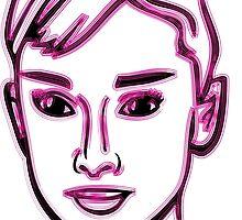 Audrey Hepburn Pink by mrmorningglory