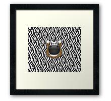 Zoo animals wildlife - Zebra Framed Print