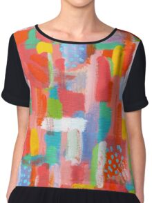 LIFE IS SUCH A FUN THING  Chiffon Top
