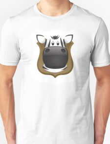 Zoo animals wildlife - Zebra Unisex T-Shirt
