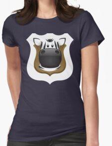 Zoo animals wildlife - Zebra Womens Fitted T-Shirt