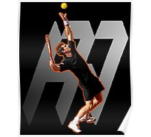 Andy Murray #1 on top of the world Poster