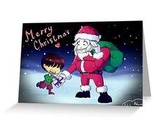 Christmas card design Greeting Card