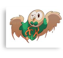 Rowlet - Pokemon starter Canvas Print