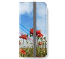 Reds and Poppies iPhone Wallet/Case/Skin