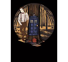 Dr Who Photographic Print