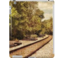 On the right track iPad Case/Skin