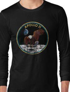 Apollo 11 grunge | space Long Sleeve T-Shirt