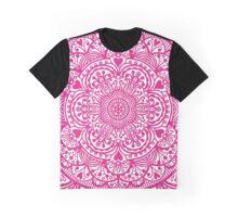 Pink pattern Graphic T-Shirt