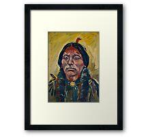 Quanah Parker Framed Print