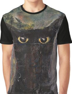 Ninja Cat Graphic T-Shirt