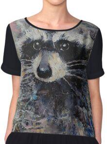 Raccoon Chiffon Top