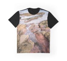 Seacliff Red Graphic T-Shirt