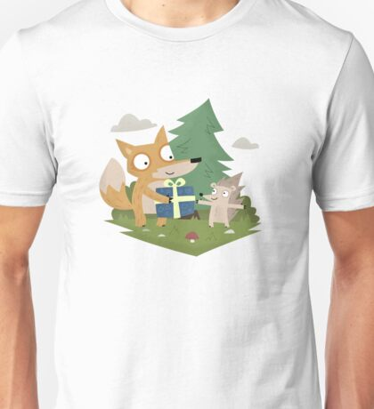 A Gift from a Fox Unisex T-Shirt