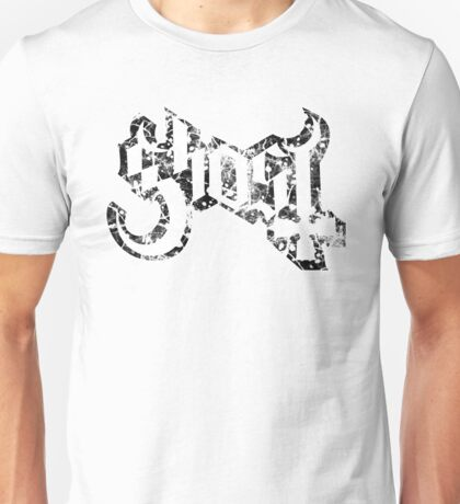 GHOST - destroyed black Unisex T-Shirt