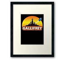 Gallifrey Framed Print