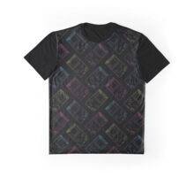 Gameboy Outlines (black) Graphic T-Shirt