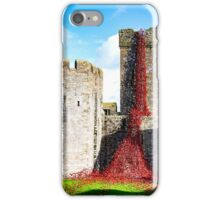 Curtain Of Poppies iPhone Case/Skin