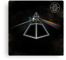 Daft Side Of The Moon Canvas Print