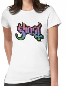 GHOST - church windows Womens Fitted T-Shirt