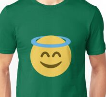 Smiling face with halo Unisex T-Shirt
