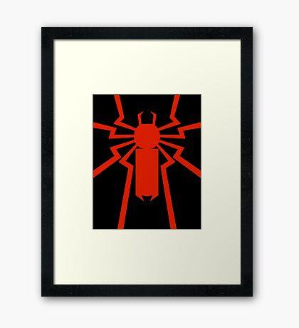 Thundering Spider Framed Print