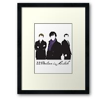 221Believe Framed Print