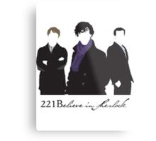 221Believe Metal Print
