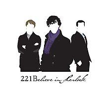 221Believe Photographic Print