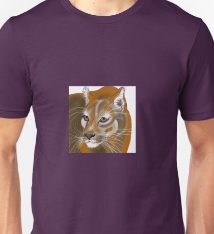 Lynx in the Jungle Unisex T-Shirt