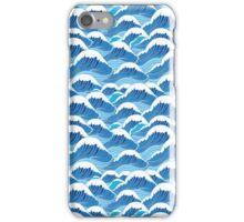 sea wave pattern iPhone Case/Skin