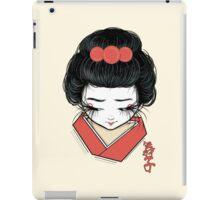 Maiko iPad Case/Skin