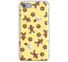 Gingerbread Cookies | Yellow iPhone Case/Skin