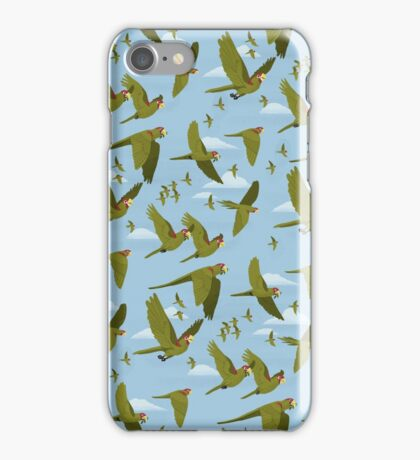 Parakeet Migration iPhone Case/Skin