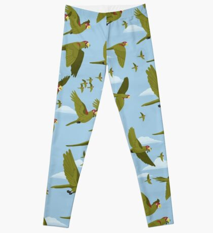 Parakeet Migration Leggings