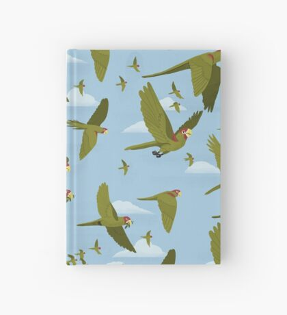 Parakeet Migration Hardcover Journal