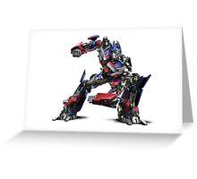 Transformers (Optimus Prime) (Movie) Greeting Card