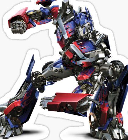 Transformers (Optimus Prime) (Movie) Sticker