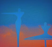 Dancing is ...silent poetry  by Andre  Furlan