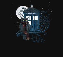 Owl And Tardis T-Shirt