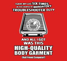 Mandatory Sentimental Veteran Troubleshooter Body Garment Unisex T-Shirt