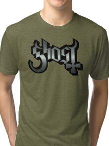 GHOST - reel steel Tri-blend T-Shirt